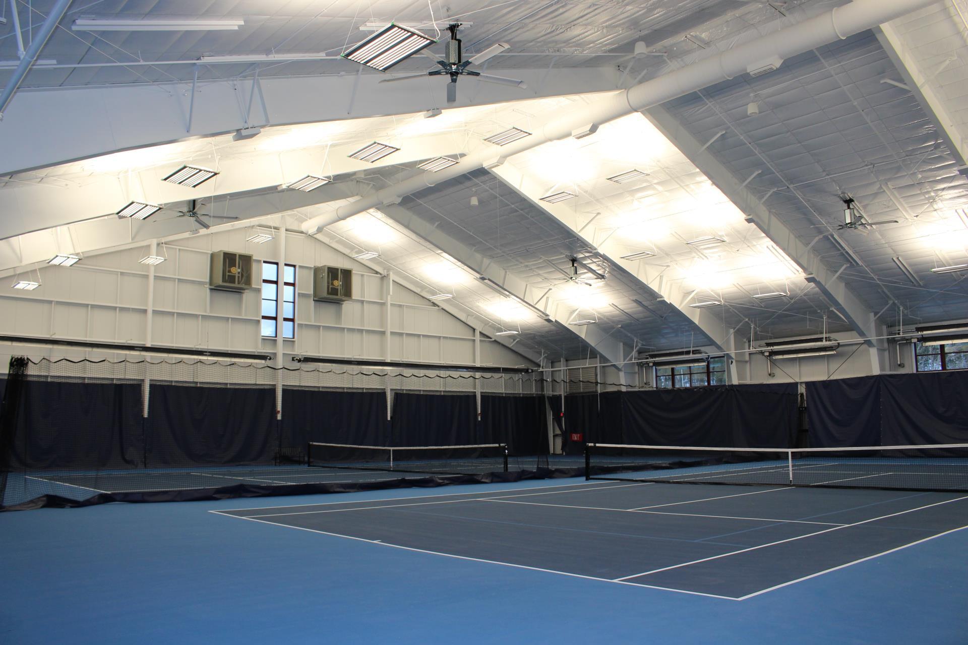 Indoor Tennis at the Rec Center