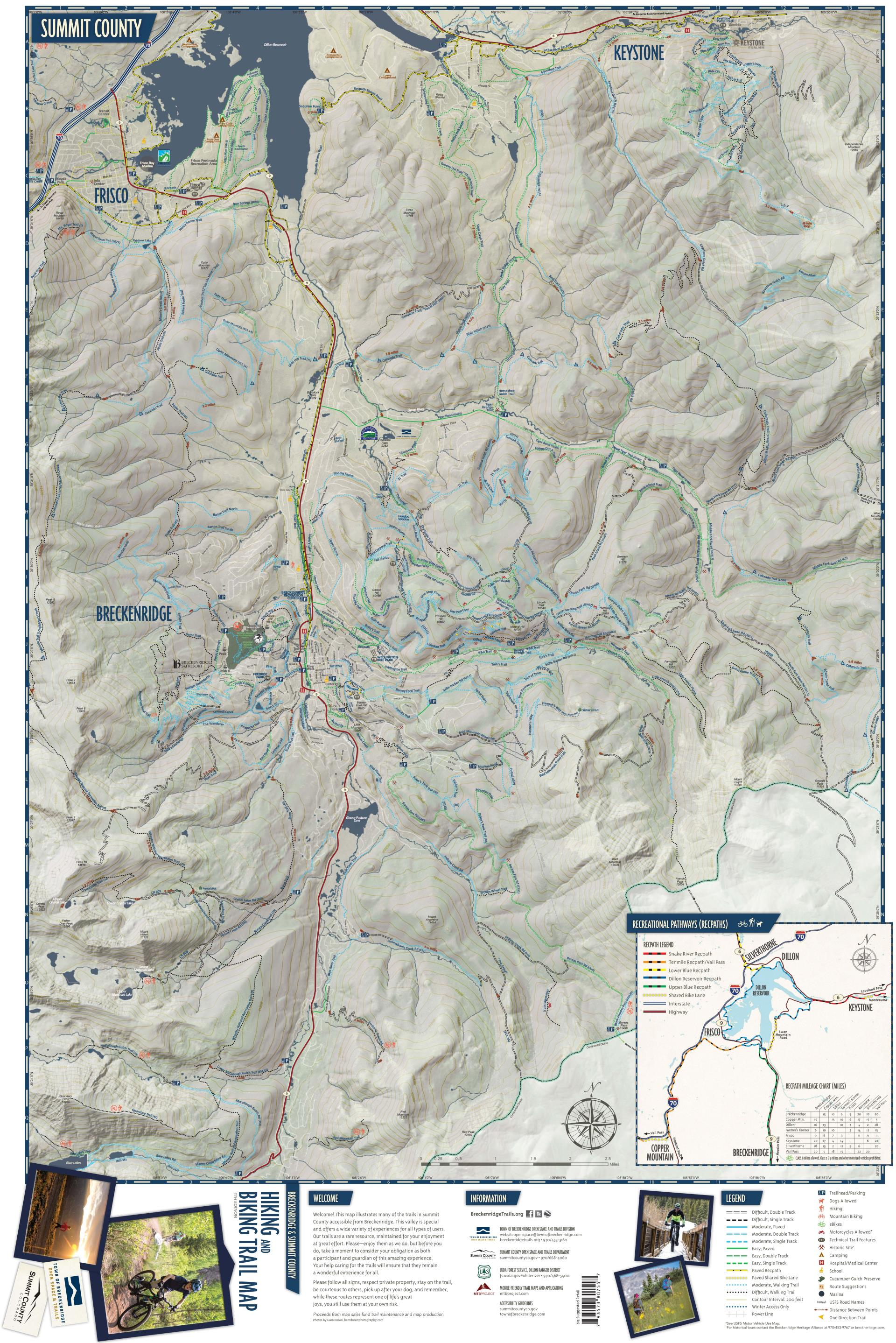 Trail Map Front