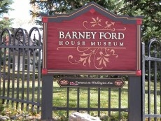 Barney Ford Museum Sign
