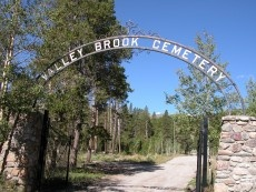 Valley Brook Cemetery Entrance
