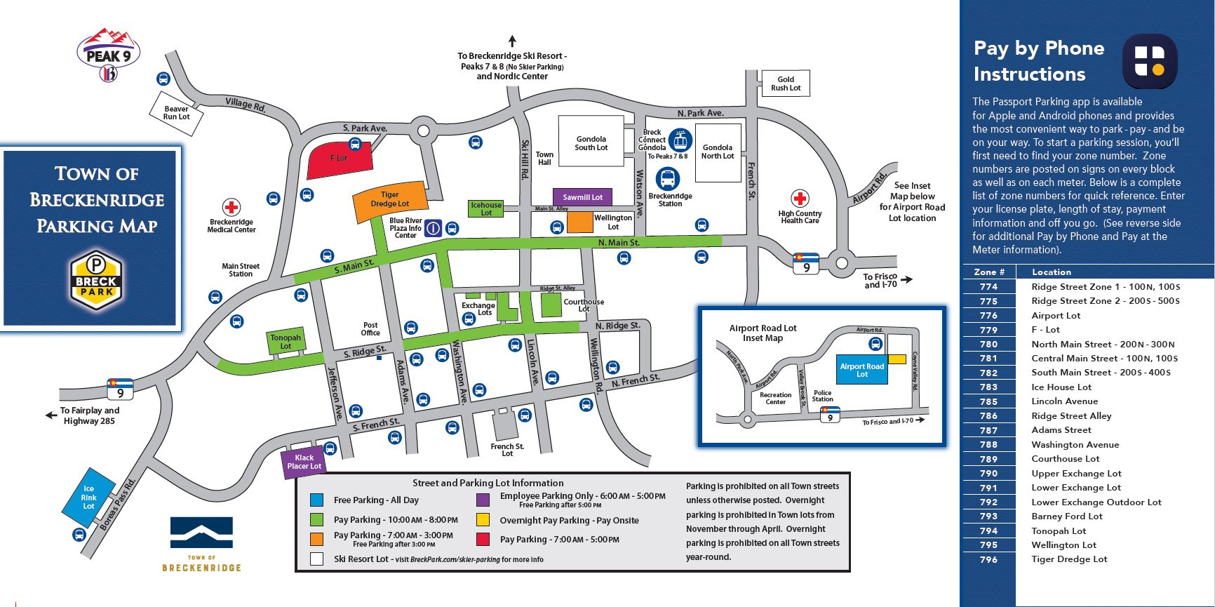 Parking Map Wntr 16 17