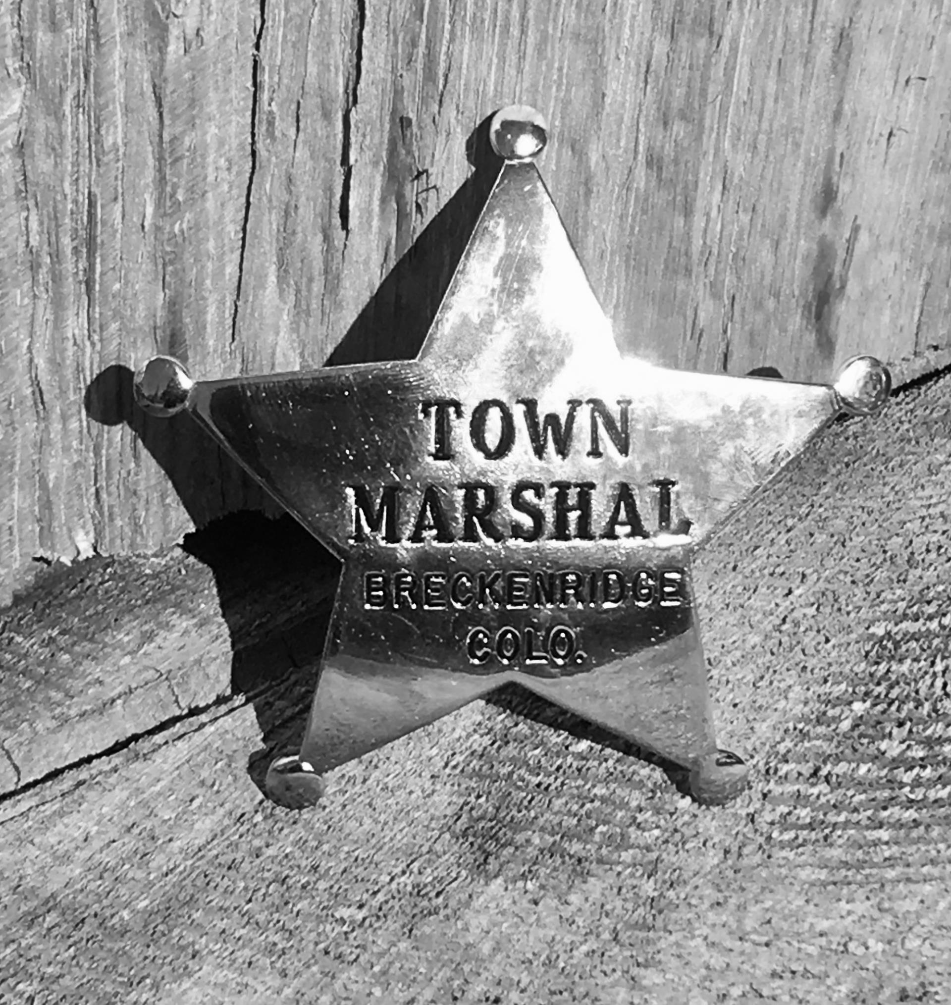 1881 Marshal Badge small