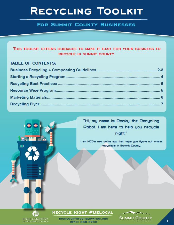 BusinessToolkit for Recycling cover image