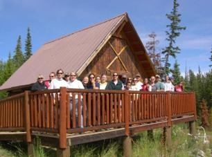 Cabin Group Shot