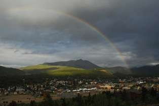 Rainbow over Breckenridge Photo by Chris Connell