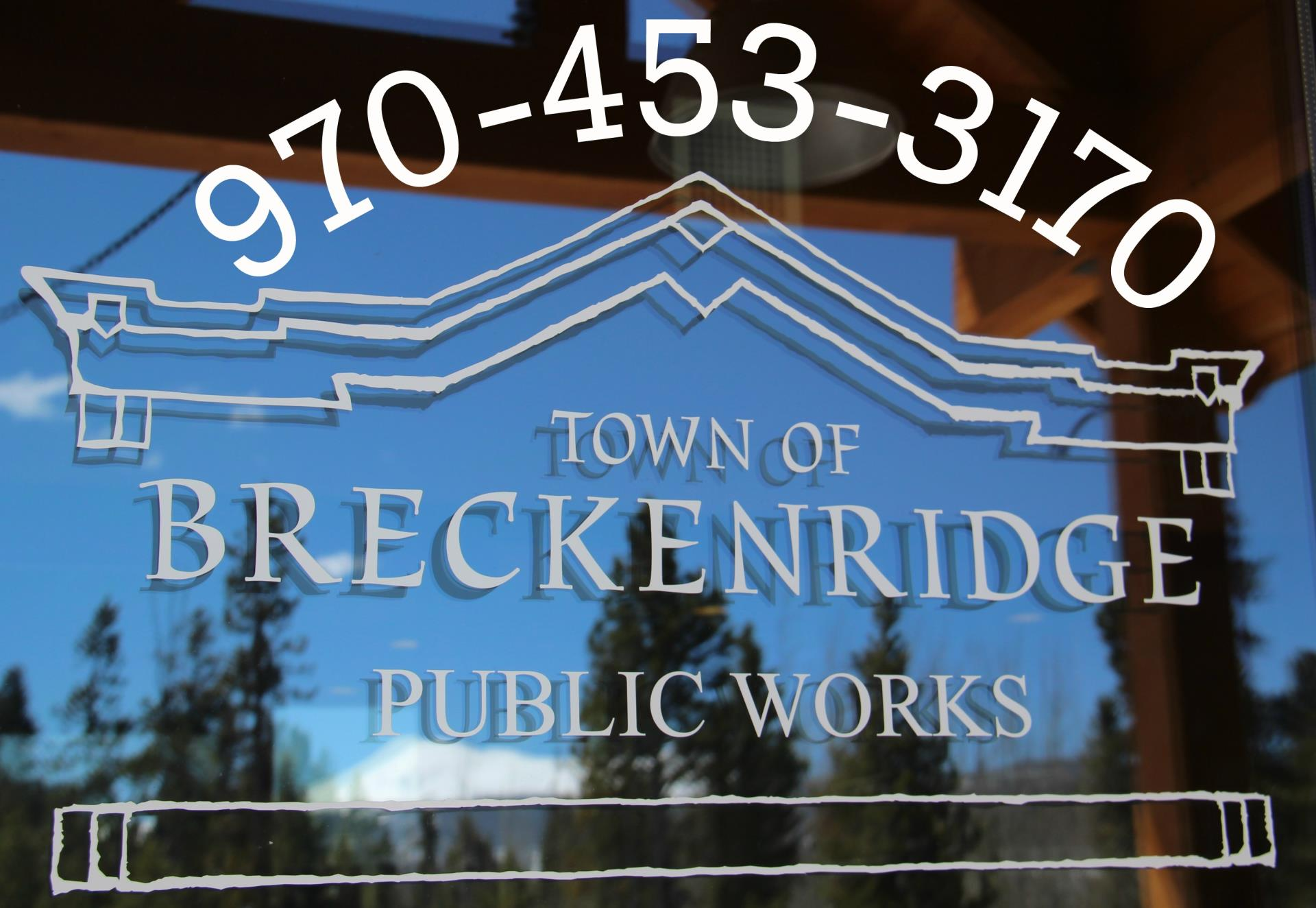 Public Works office phone number