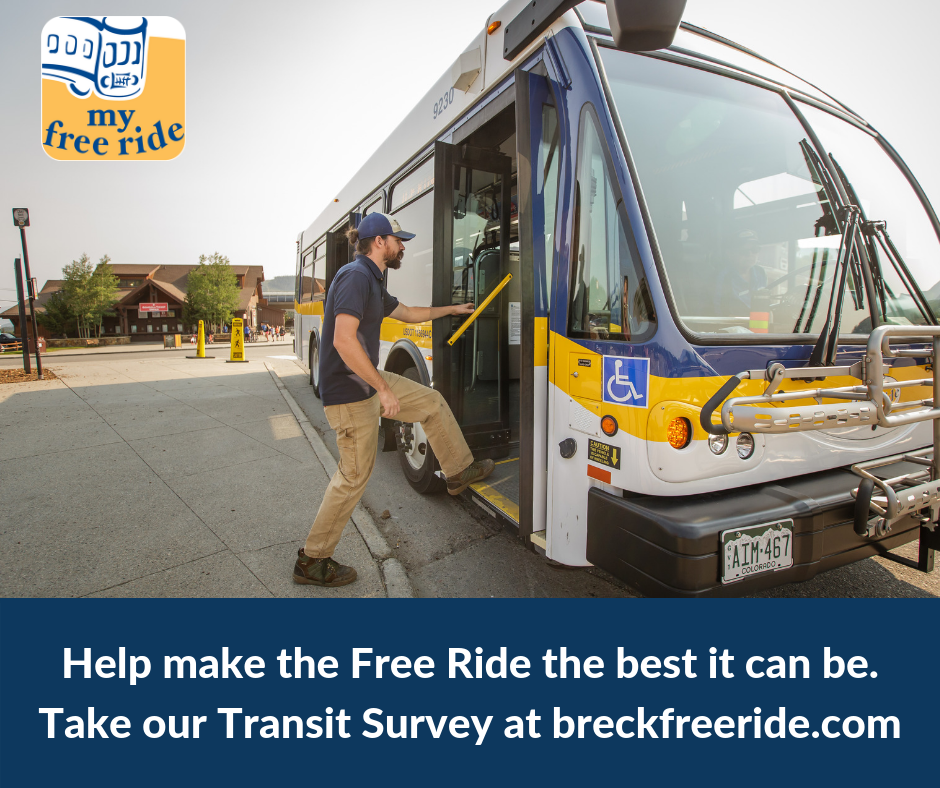 Help us make the Free Ride the best it can be. Visit breckfreeride.com to take the survey