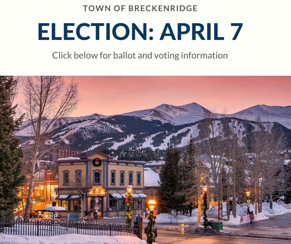 Town election on April 7. Click read more for more info.