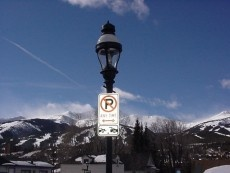 Breckenridge Street Light
