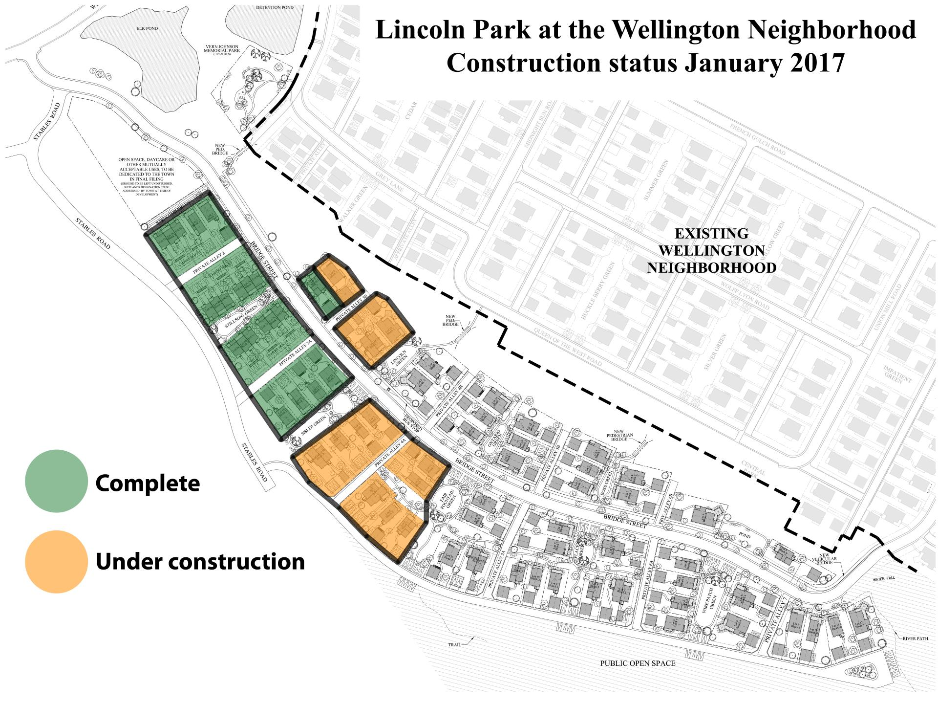 Lincoln Park Status Map 01-18-2017